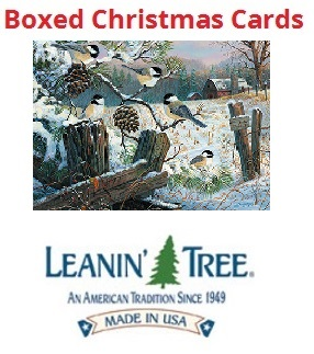 Chickadee christmas cards holiday cards with chickadee birds boxed chickadee cards reheart Images